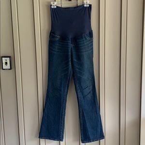 Indigo Blue Maternity Jeans size Medium